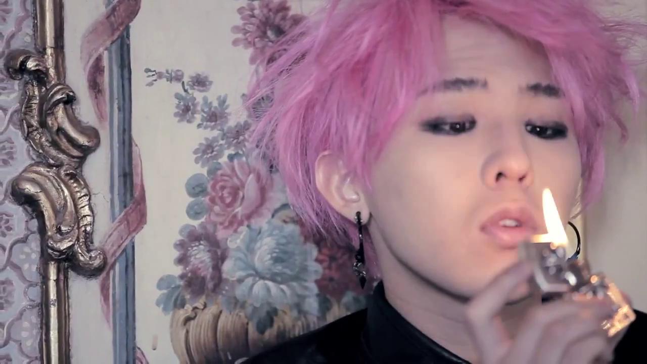 Image result for BIG BANG's G-Dragon pink hair